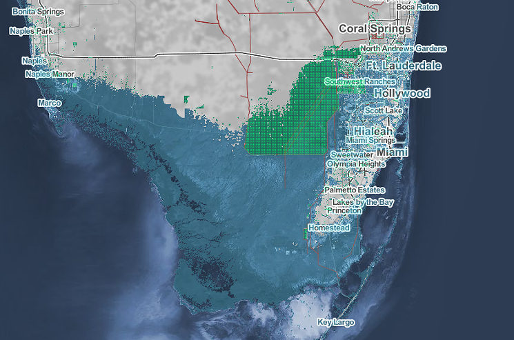faster than previously predicted, rising sea levels could