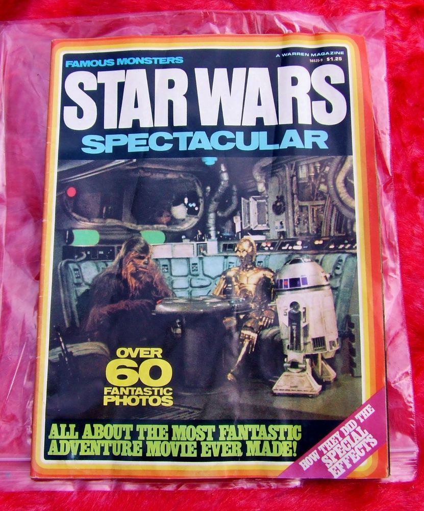 Vintage #Star Wars Famous Monsters Magazine Spectacular