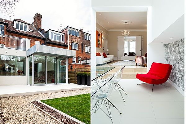 Extension on edwardian home also extending an in crouch end our house the middle rh pinterest