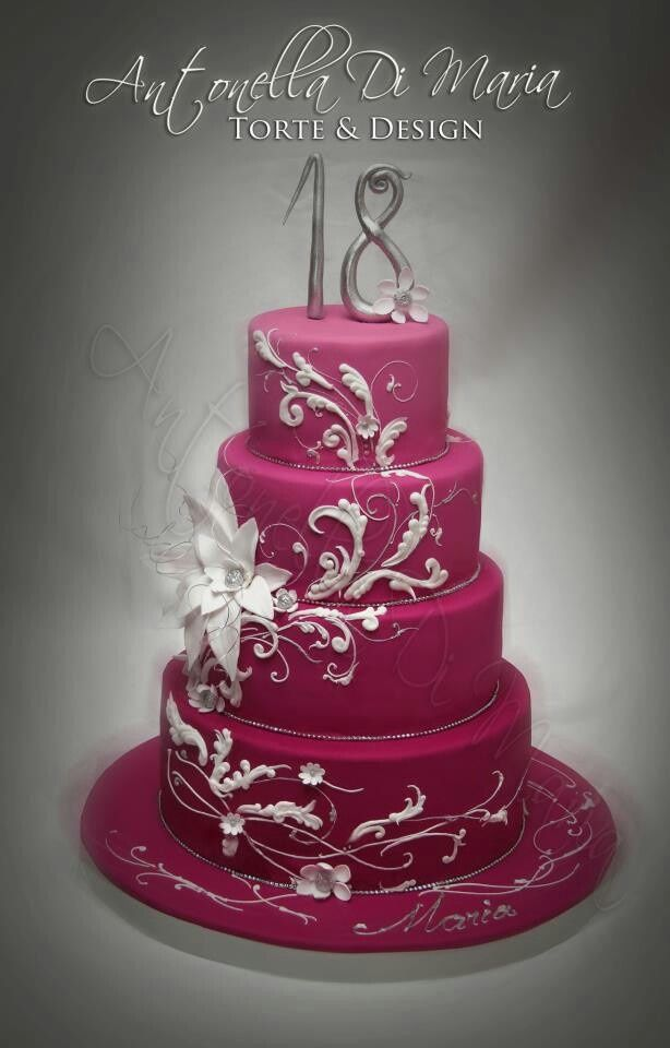 Image result for Pretty Birthday Cakes For Women cakes Pinterest