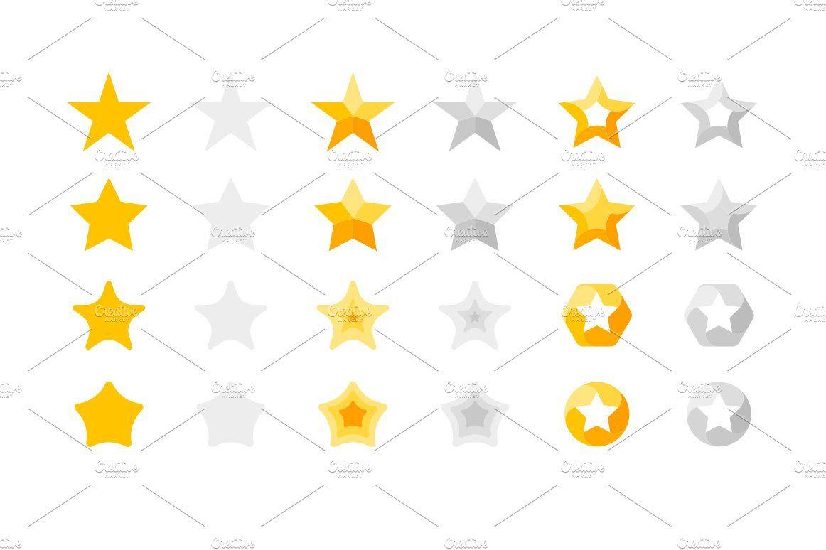 Stars Mega Bundle Stars Star Awards Vector File