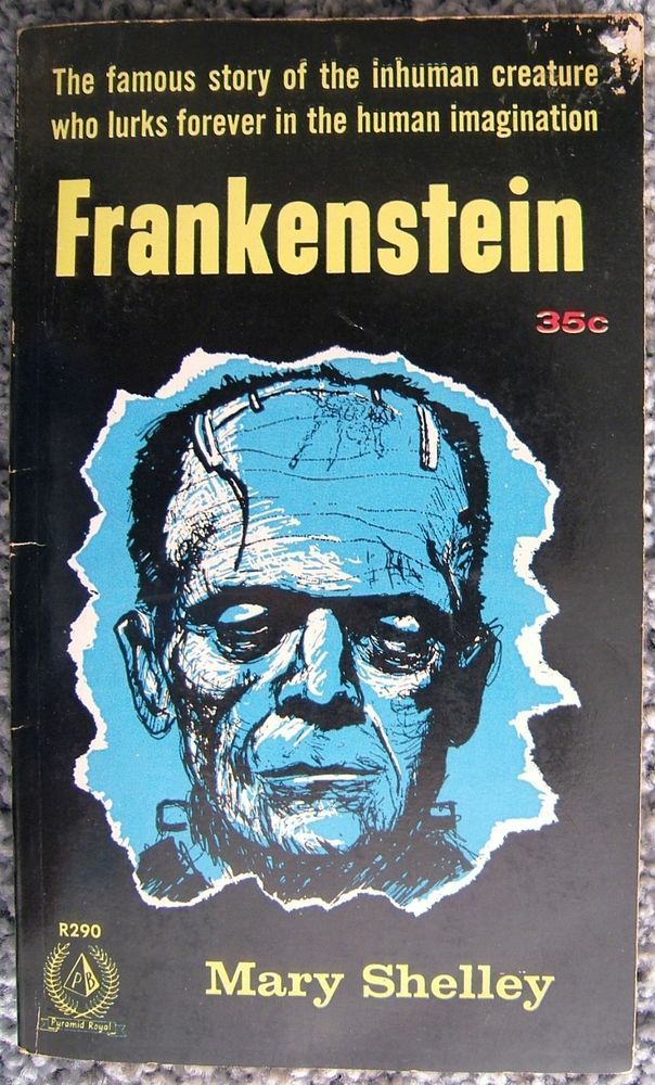 Check out Frankenstein Mary Shelley Book R290 Pyramid Royal Paperback Vintage 1964 USA  https://www.ebay.com/itm/Frankenstein-Mary-Shelley-Book-R290-Pyramid-Royal-Paperback-Vintage-1964-USA-/152389892825?roken=cUgayN&soutkn=13qItk via @eBay