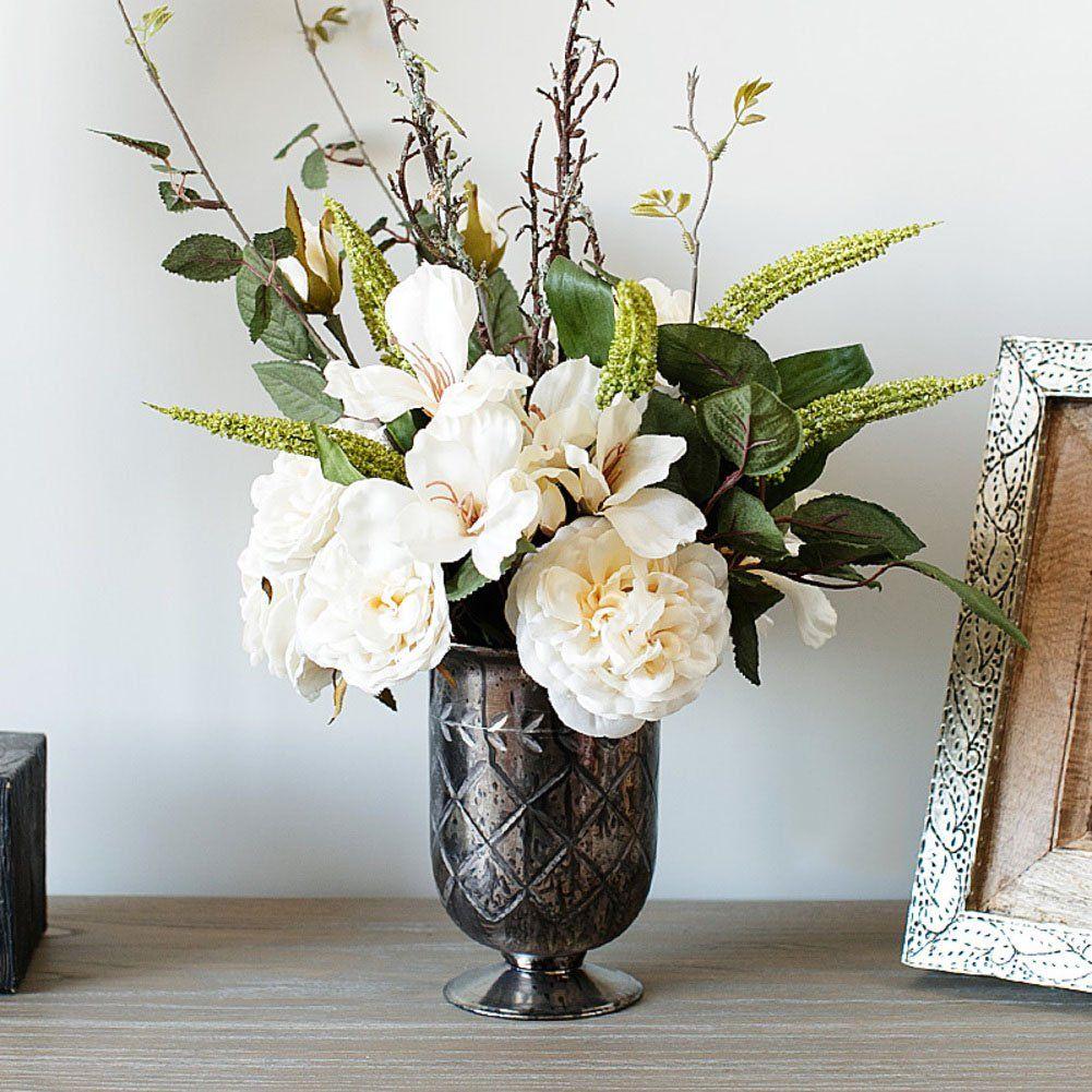 ADHUEILHFIB Artificial flowersArtificial flowers Set Silk