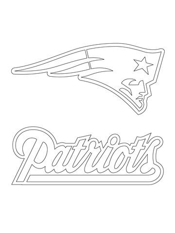 New England Patriots Logo Coloring Page From Nfl Category Select From 23013 Printable Crafts O New England Patriots Logo Patriots Logo Football Coloring Pages