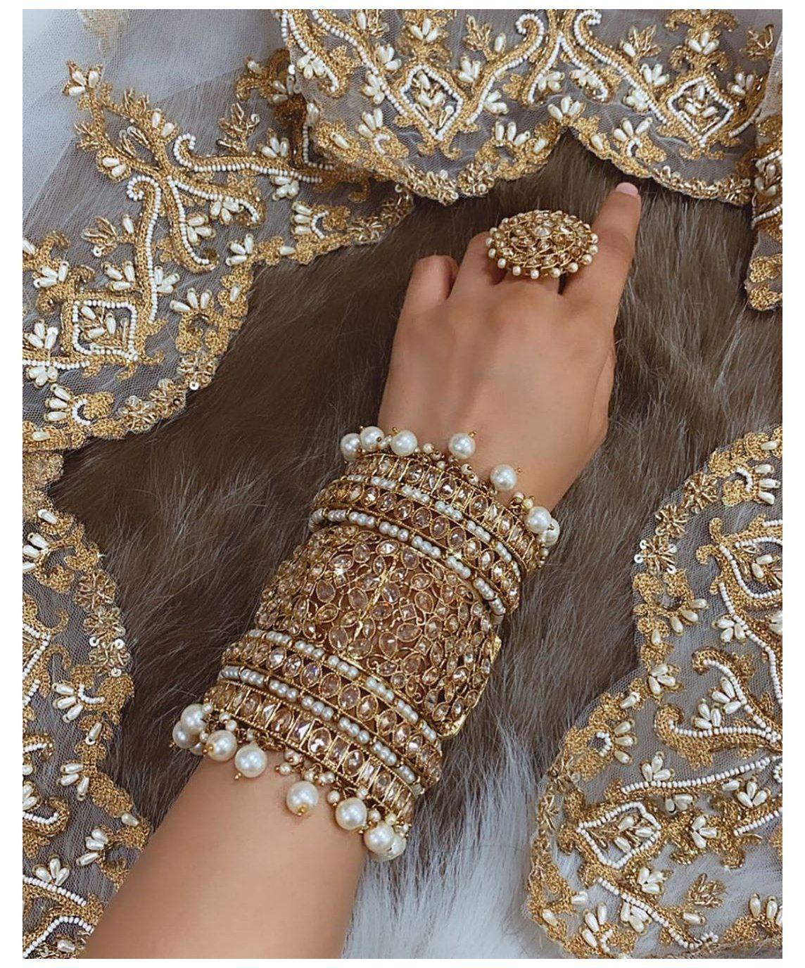 pakistani floral jewellery