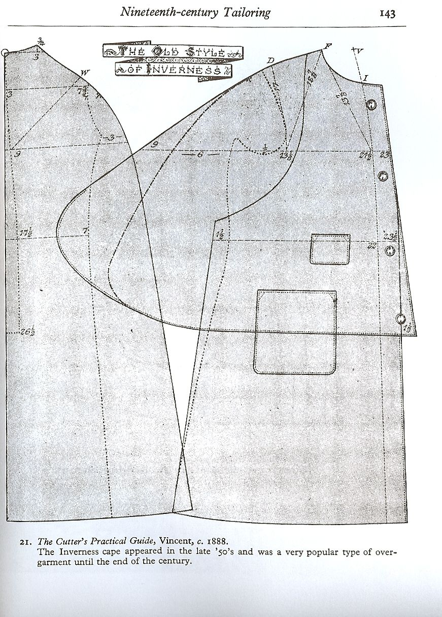 Inverness Cape | Men\'s Sewing Patterns | Pinterest