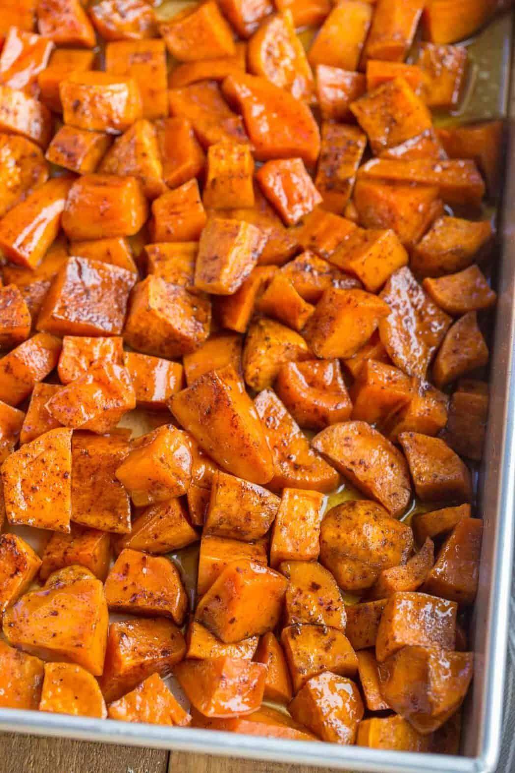 Candied Yams – Dinner, then Dessert
