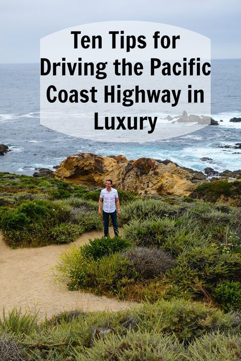 A blog post for the most luxurious way to drive one of the USA's most scenic routes, the Pacific Coast Highway