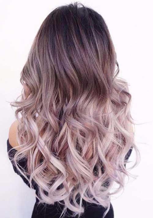 Einzigartige Ombre-Frisuren -  11.Ombre Frisur  - #braidedhairstyle #einzigartige #frisuren #haircolorhairstyles #hairstyleformediumlengthhair #hairstyleshighlights #ombre #OmbreFrisuren #hairmakeup