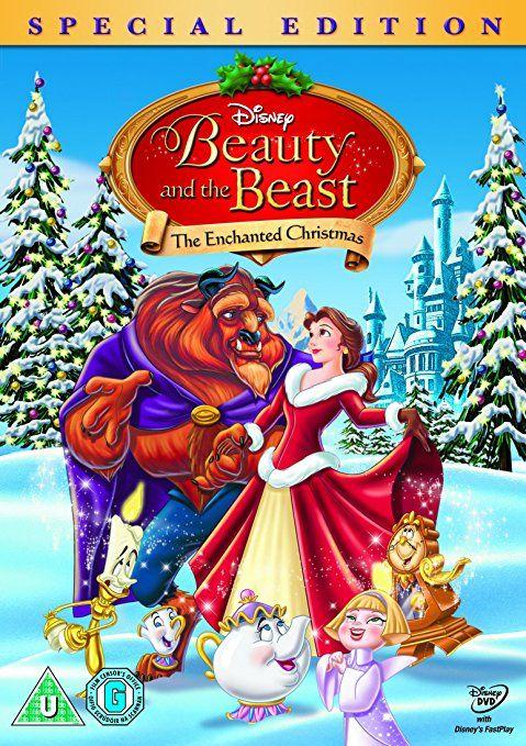 Beauty And The Beast The Enchanted Christmas Disney No Natal