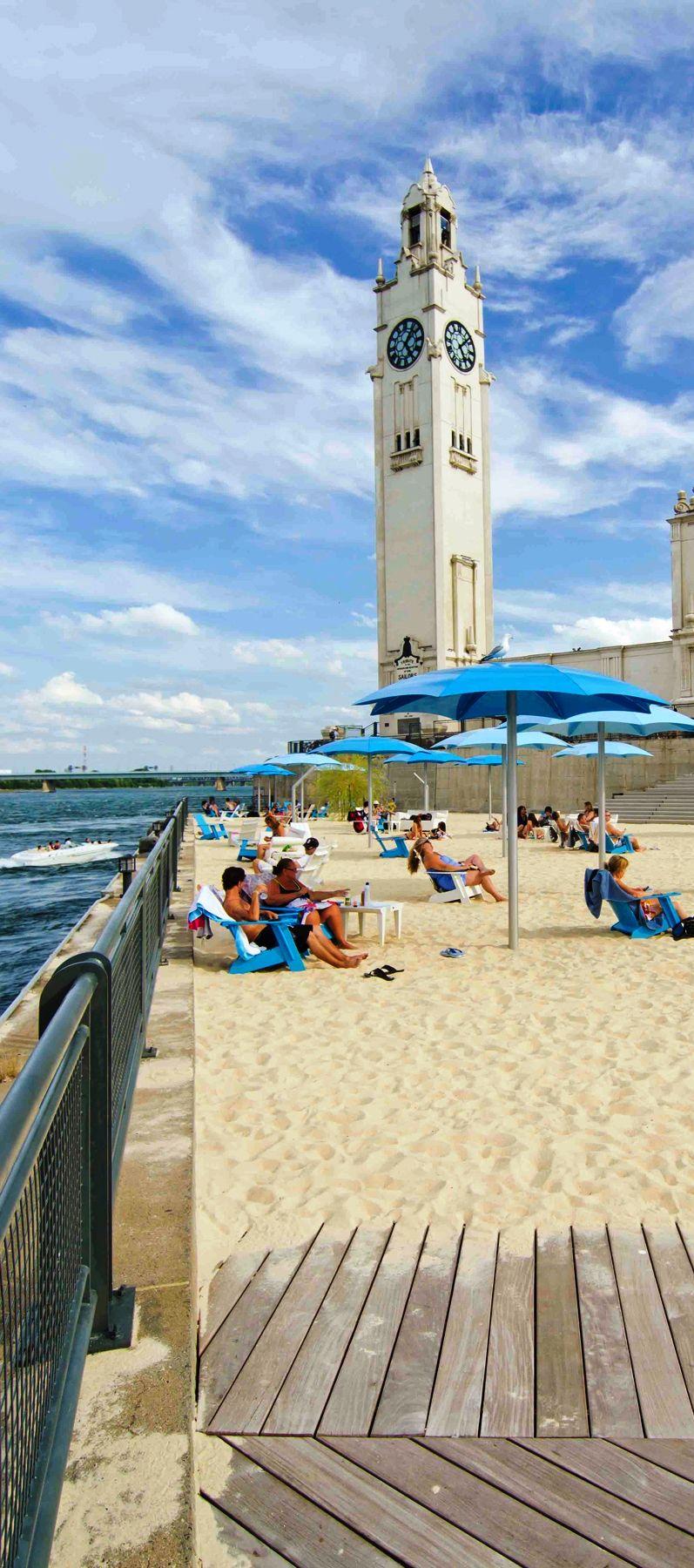 Clock Tower Beach Montreal Canada
