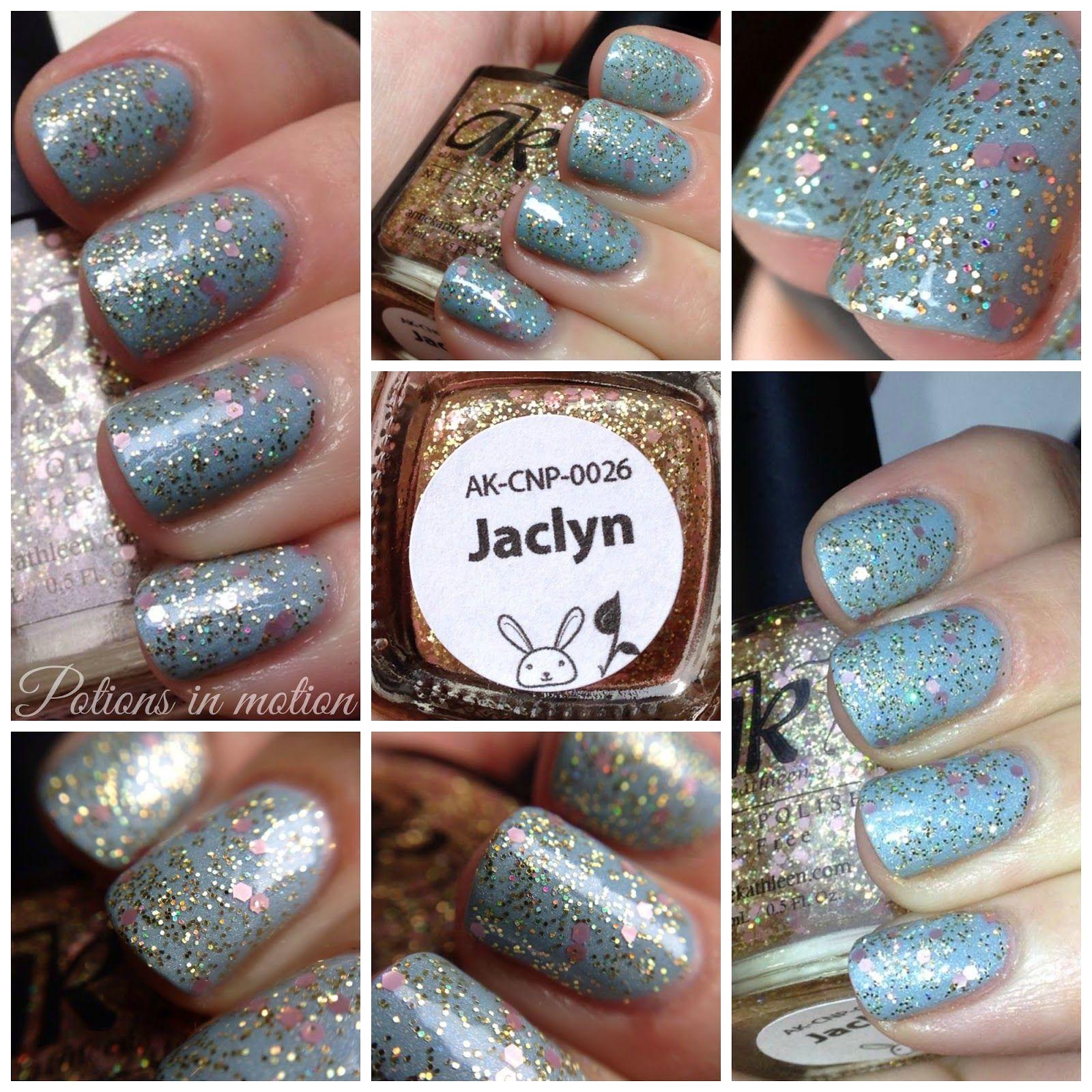 Anne Kathleen Nail Polish - Jaclyn | Nails | Pinterest | Swatch