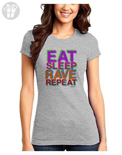 TooLoud Eat Sleep Rave Repeat Infant T-Shirt Dark
