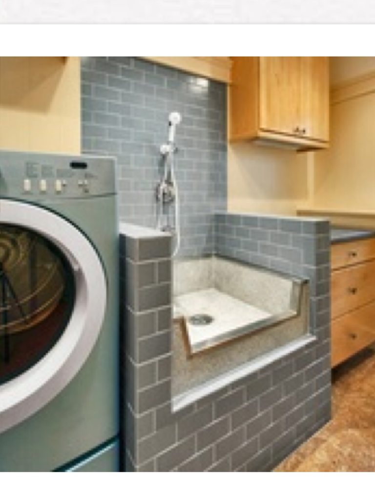 Dog Grooming Area Good Idea Modern Laundry Rooms My Dream Home