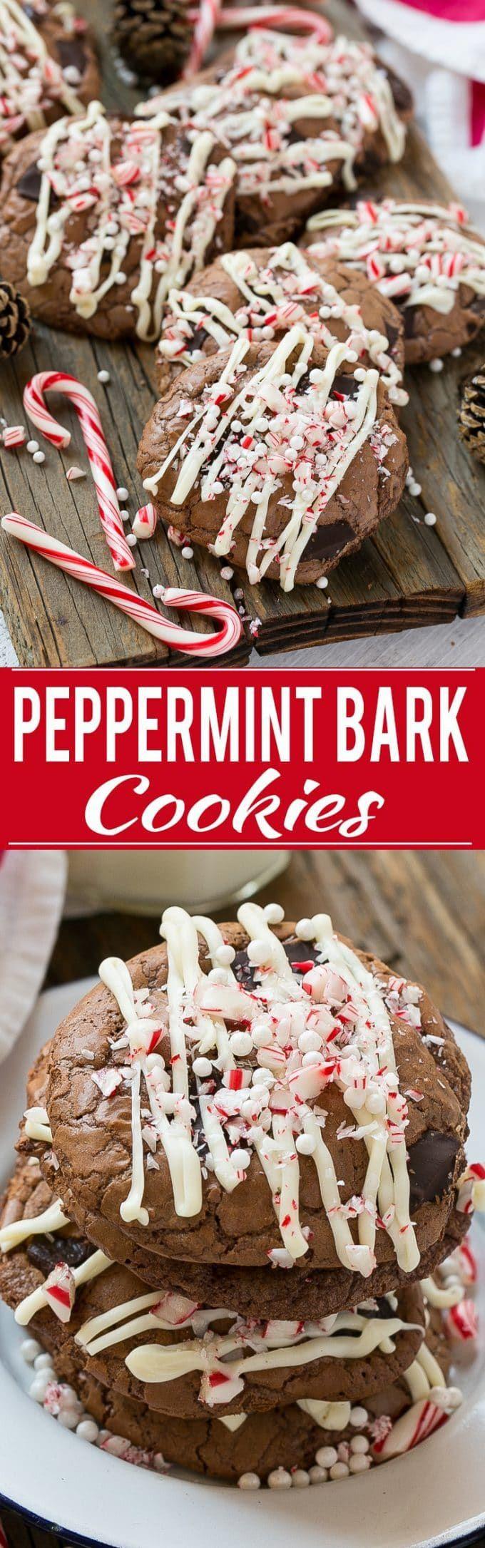 Peppermint Bark Cookie Recipe Peppermint Bark Cookies Best Peppermint Bark Peppermint Bark Cookie Recipes Peppermint Bark Cookie Cookies Recipes Christmas