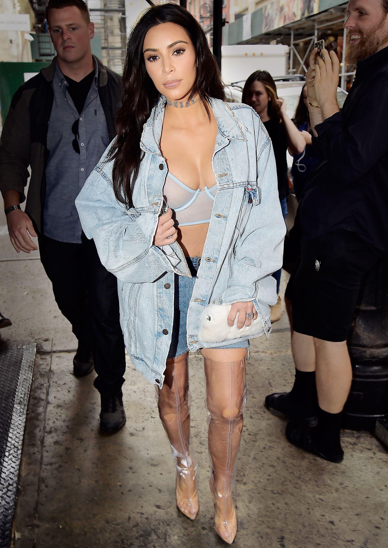 Kim Kardashian West\'s Best Street Style Moments | Kardashian ...