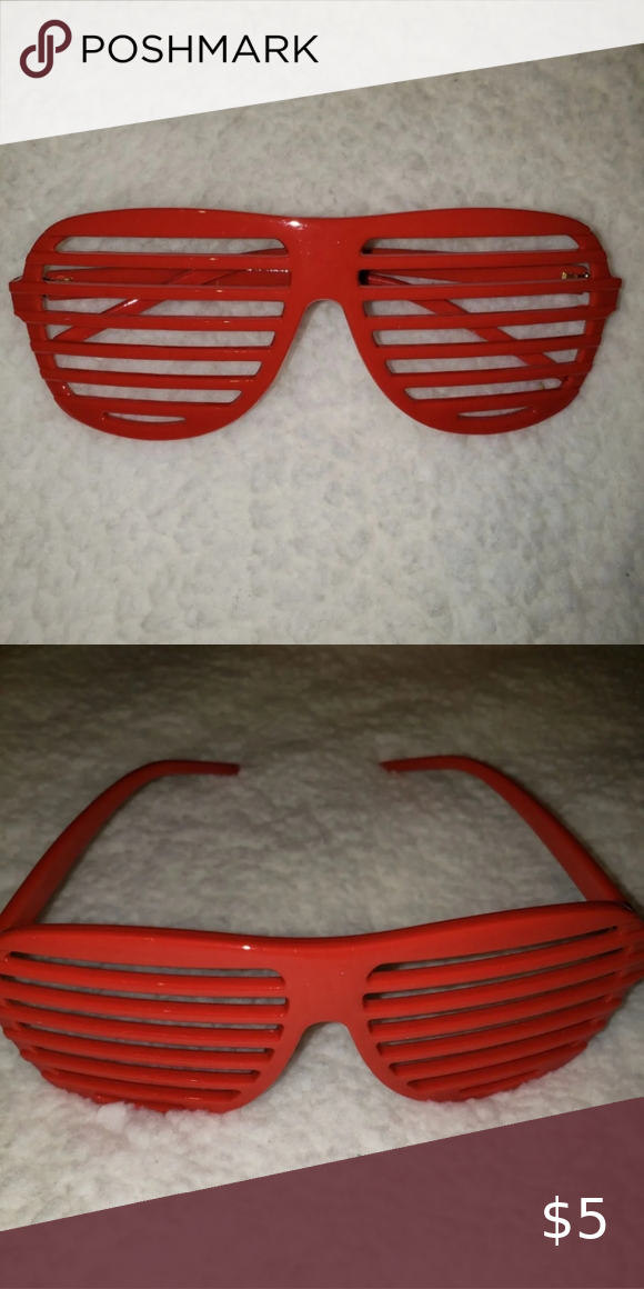 Red Shutter Shades Glasses In 2020 Red Shutters Shutter Shades Glasses