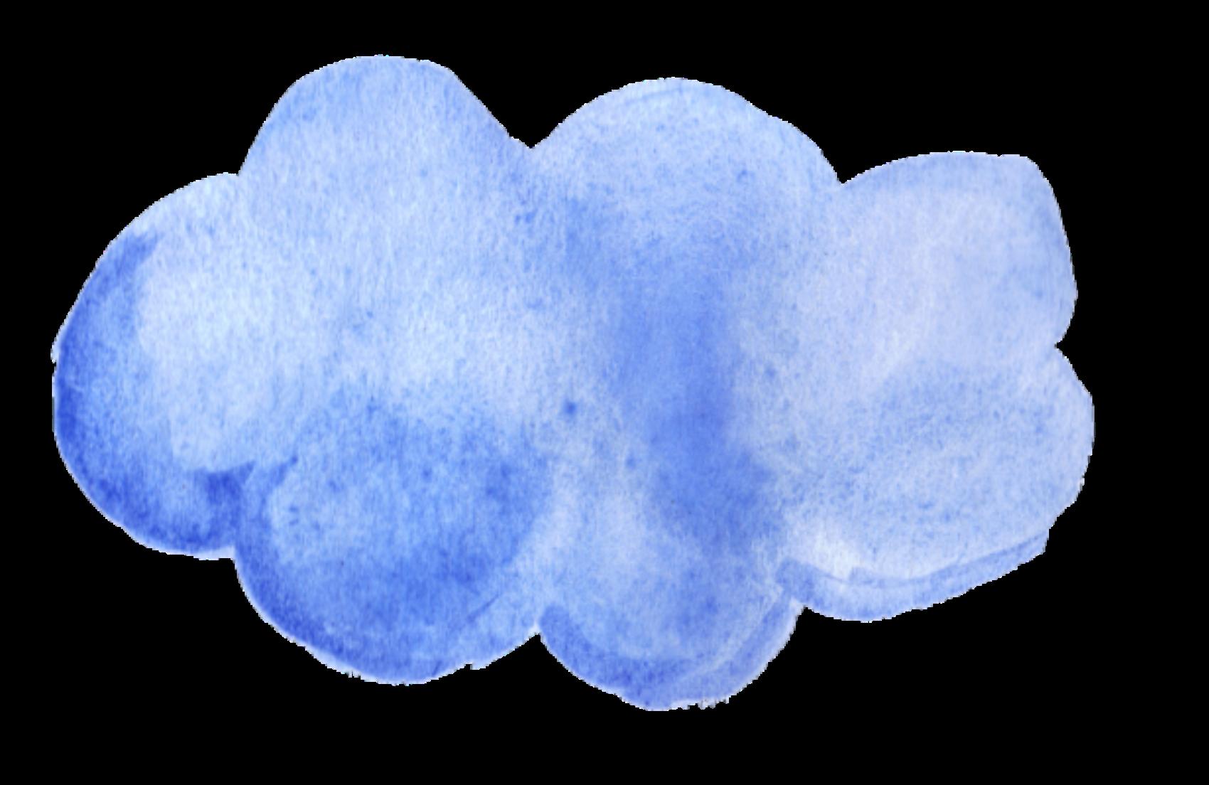 Splash Blue Watercolour Background