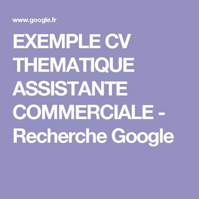 Exemple Cv Thematique Assistante Commerciale Recherche Google Assistante Commerciale Exemple Cv Assistante
