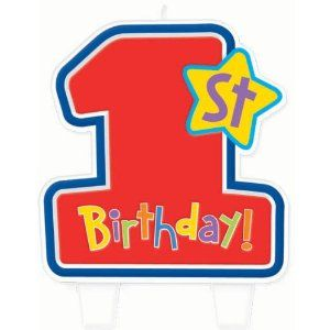 Hugs and Stitches Boy's 1st Birthday Candle by Amscan, Inc.. Save 4 Off!. $4.00. Hugs and Stitches Boy. Kids' Party Supplies. Light up his life with a 1st Boy Birthday Hugs and Stitches flat molded candle! Themed with a cute teddy bear and rocket with bordering blue gingham patterns that matches other tableware accessories. Includes one candle per pack; design is one sided only.
