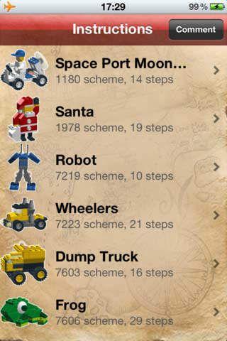 Itunes Lego Instructions App Birthday Legos Pinterest Lego
