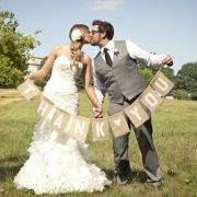 In front of the barns- easy Thank you- sort of obsessed with this wedding except the dress