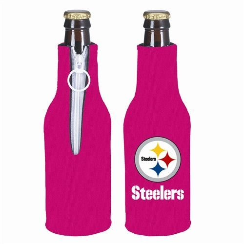 Pittsburgh Steelers Hot Pink NFL Hot Pink Bottle Suit Cooler
