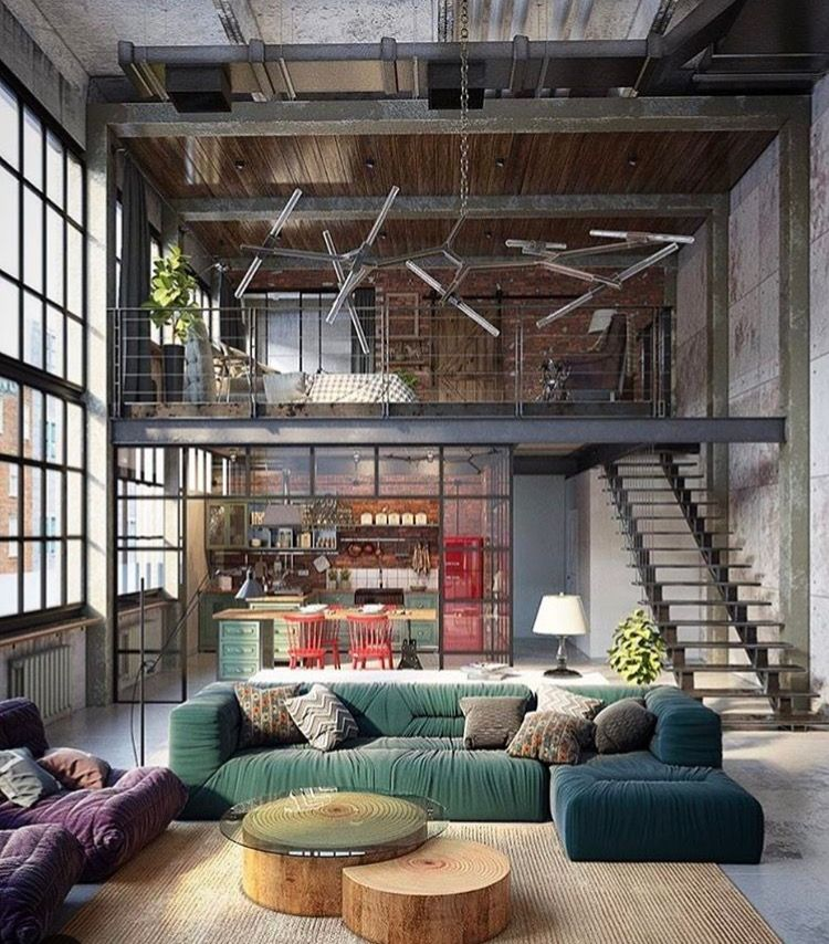 Pin by Edvinas Pètra on House? Home...   Pinterest   Industrial ...