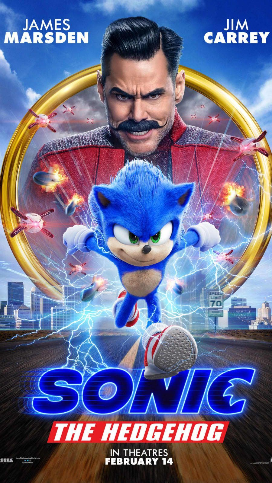 Incroyable  Mot-Clé 'Sonic The Hedgehog' Movie Sets Box Office Record On Opening Week