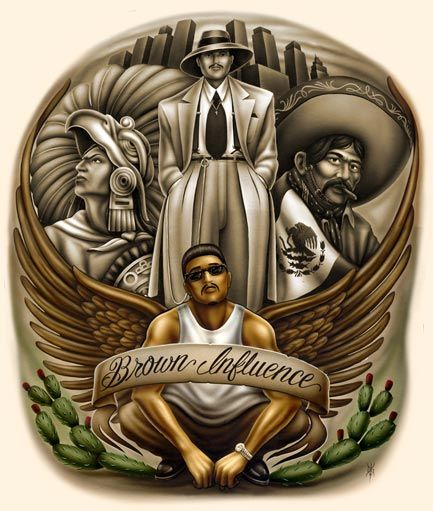 Homies art in 2019 lowrider art chicano chicano art - Brown pride lowrider ...