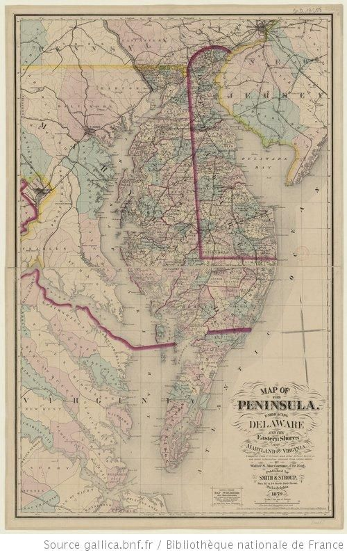 Delaware Peninsula Map Route To Going Postal Delaware