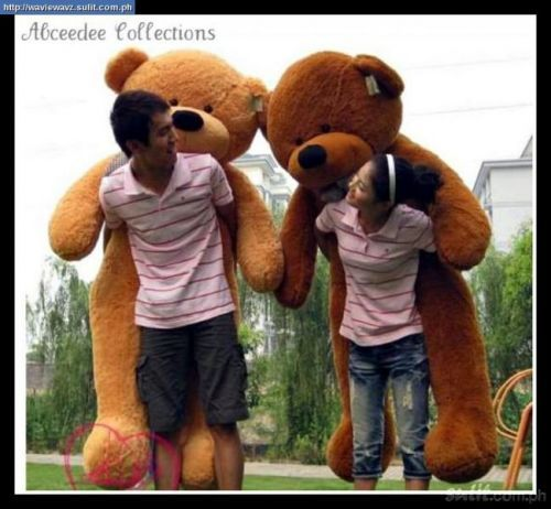 life size teddy bear valentines day