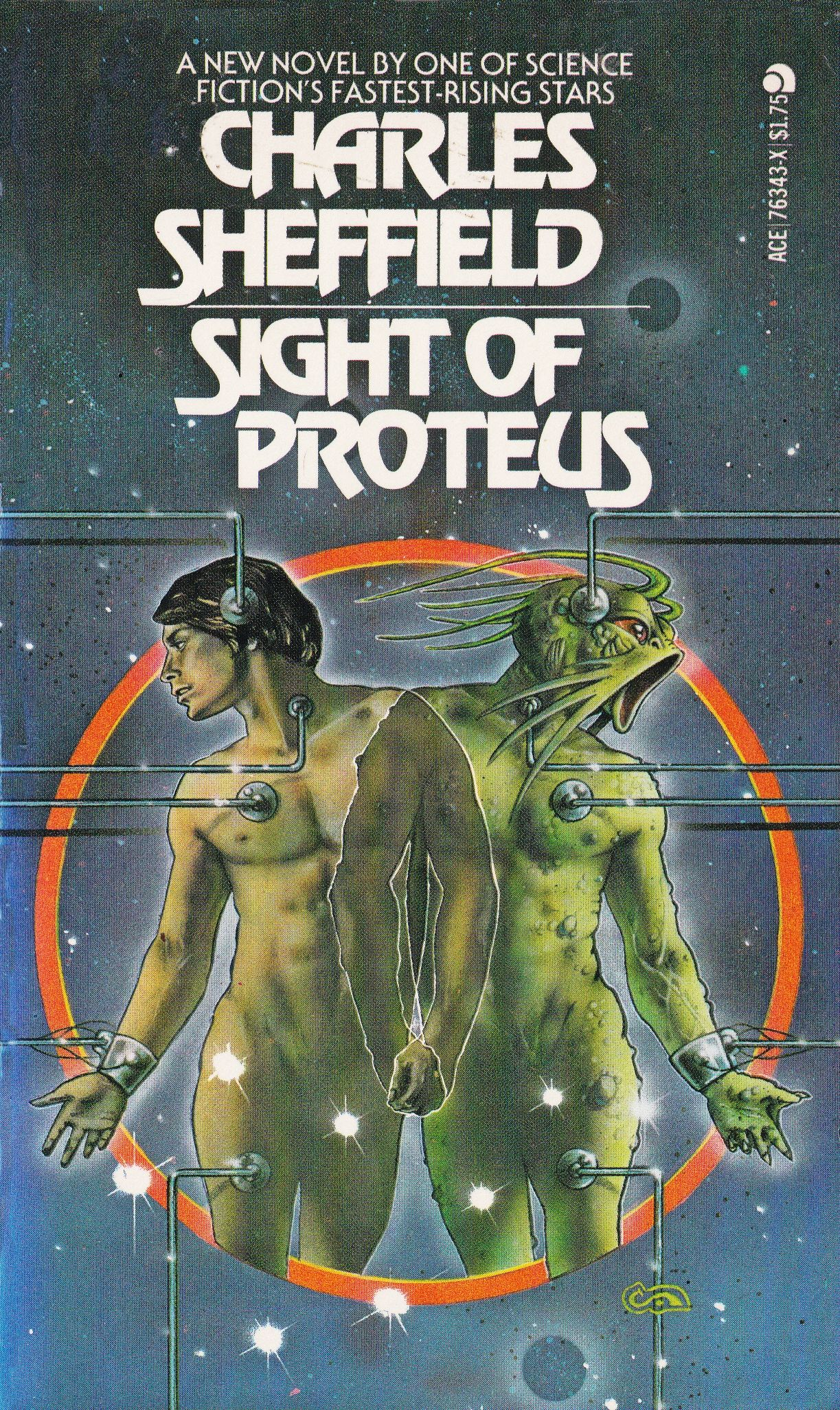Charles Sheffield Sight Of Proteus Cover Art Clive