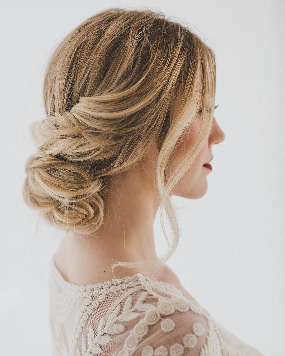 Pretty Wedding Updo For Any Bride Looking For A Unique Style