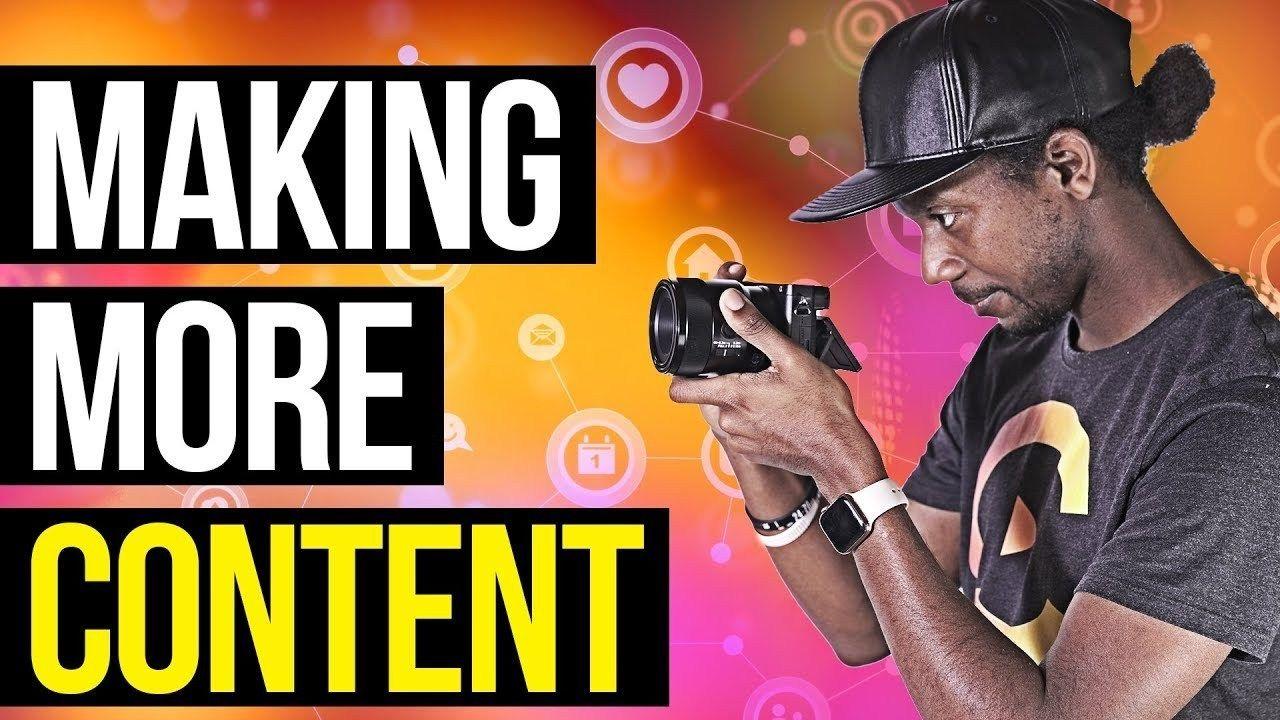 MAKE MORE CONTENT (Motivational Rant) ENDS Media LLC
