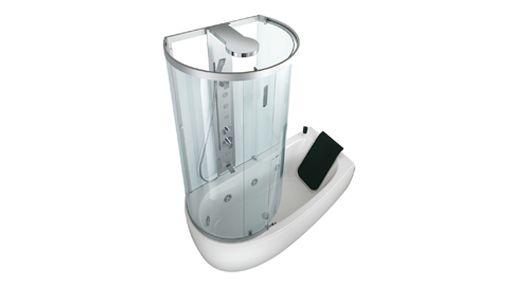 Vasca Da Bagno Teuco Armonya : Armonya m combi units teuco tub shower combos