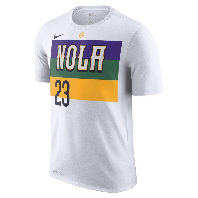 e705e810a8d Anthony Davis New Orleans Pelicans City Edition Nike Dri-FIT Men s NBA  T-Shirt - White