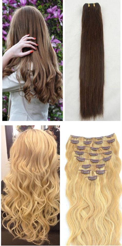 Instant Long And Thick Hair With Clip In Hair Extensions My Best