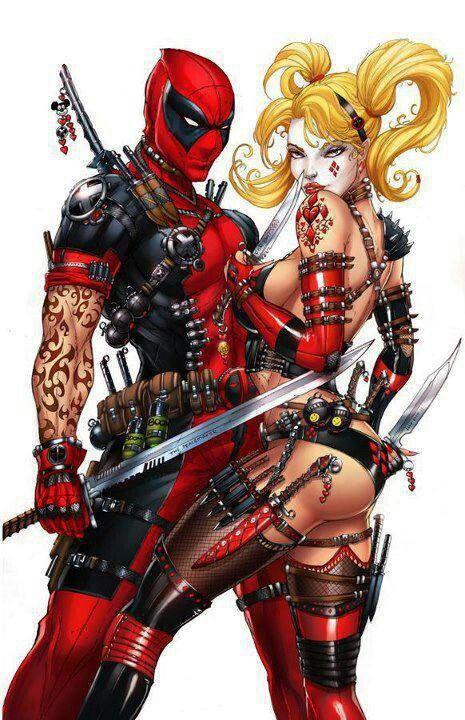 b5670f942 Bad Ass Harley Quinn Deadpool | Harley | Harley quinn, Harley quin ...