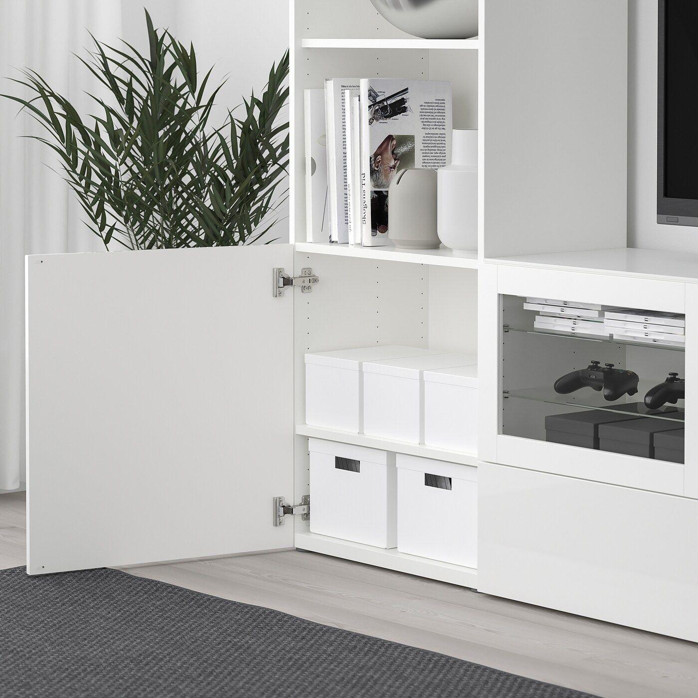 TJENA Förvaringslåda med lock, vit, 9x9x9 cm - IKEA in 9