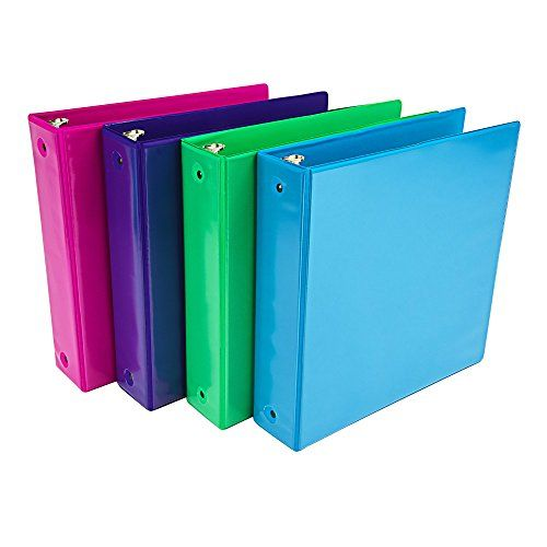 Samsill Fashion Color 3 Ring View Binder 2 Inch Round R Https Www Amazon Com Dp B01exiqig4 Ref Cm Sw R Pi Colorful Binders Ring Storage Fashion Colours