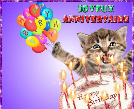 Heureux Anniversaire First Birthday Cards Free Online Greeting Cards Birthday Fireworks