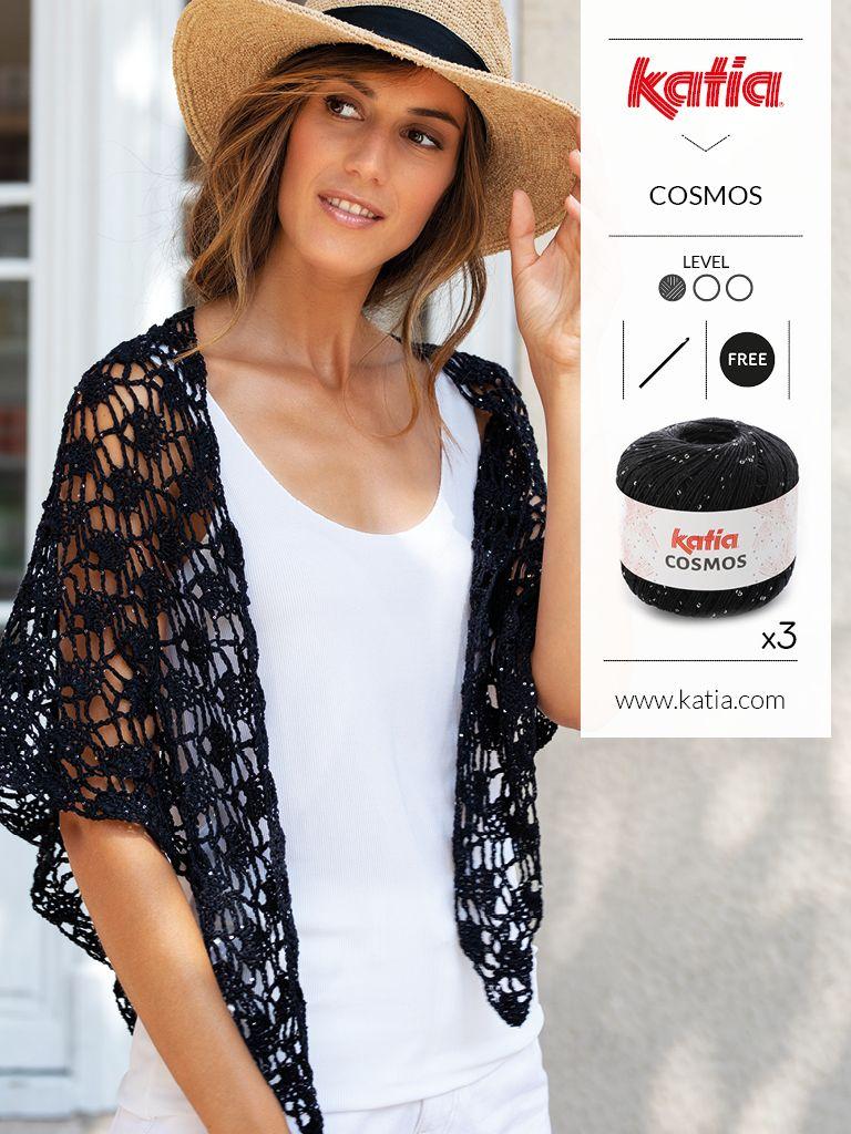 ¿Qué tejer en verano? Descarga 10 patrones de ganchillo gratis para hacer ponchos, chales, tops, pareos, bikinis…