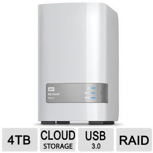 Wd My Cloud Mirror 4 Tb Personal Cloud Storage Cloud Storage Clouds Cool Things To Buy
