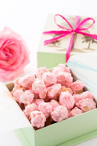 Pink Chocolate Macadamia Nuts | Pink Sweets & Afternoon tea, very cute in the pink !from Hawaii【Pink Ribbon Month】