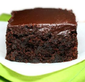 Chocolate Sour Cream Or Greek Yogurt Zucchini Fudge Cake Recipe Desserts Dessert Recipes Food