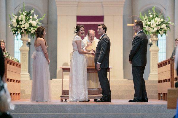 Winter White Louisiana Wedding on WeddingWire