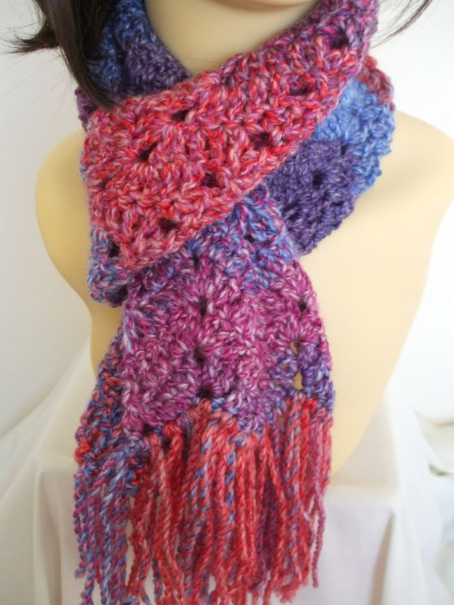 Crocheted scarf £9.00