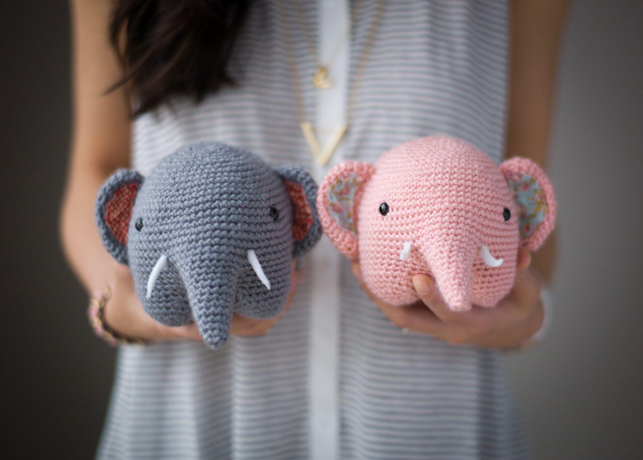Amigurumi Patterns Elephant : Pattern elephant amigurumi crochet and patterns