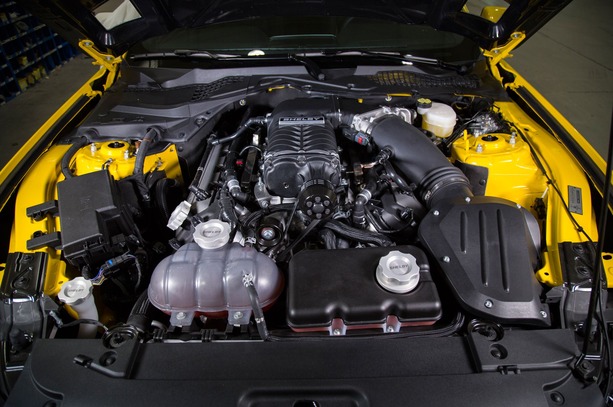 2015 Shelby Gt Is A 627 Hp Tuner Ford Mustang Engine American Provided By Motortrend Mustangford